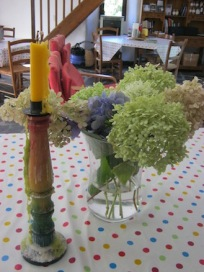 candle flowers gardoussel
